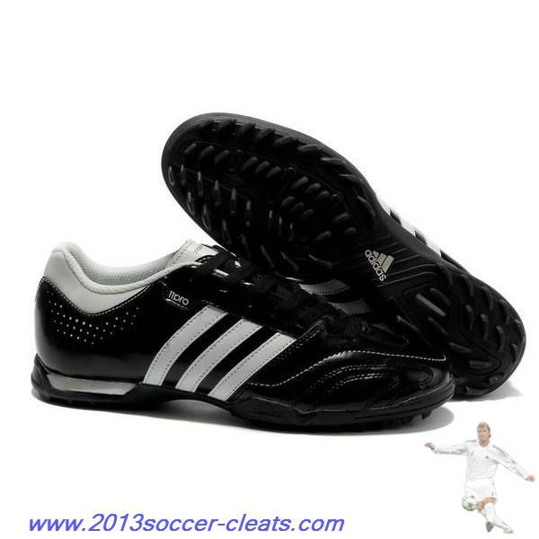 Cheap adidas 11Questra TRX Turf Shoes Black White For Wholesale