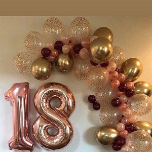 Ballon Girlande DIY Kit ~ wählen Sie Ihre Farben ~ Geburtstag Party Dekor ~ Hochzeit ~ Braut ...