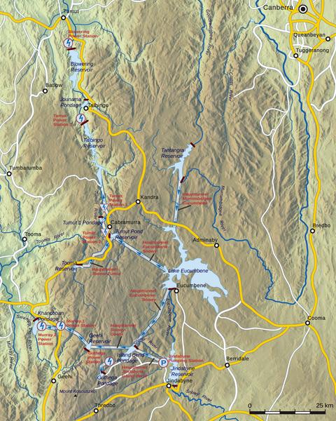 SnowyMountains Scheme, South East Australia Snowy