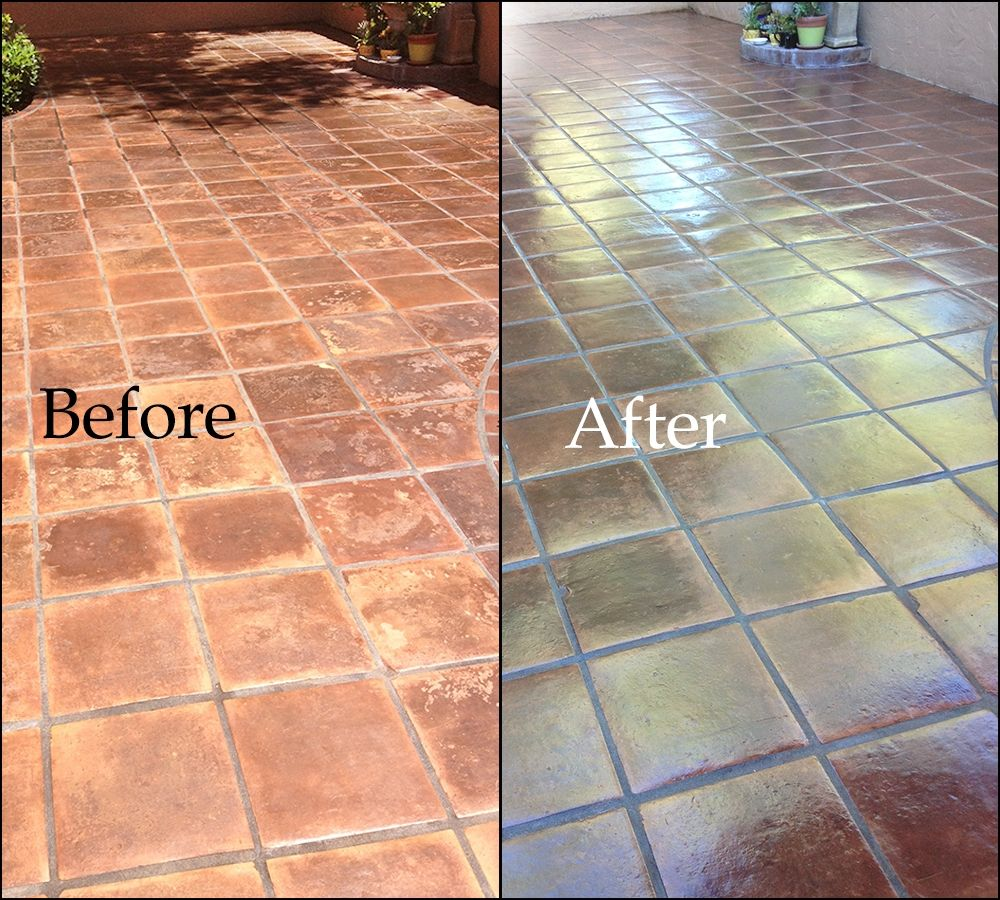 Staining Saltillo Tile Floor Installing Ceramic Tile