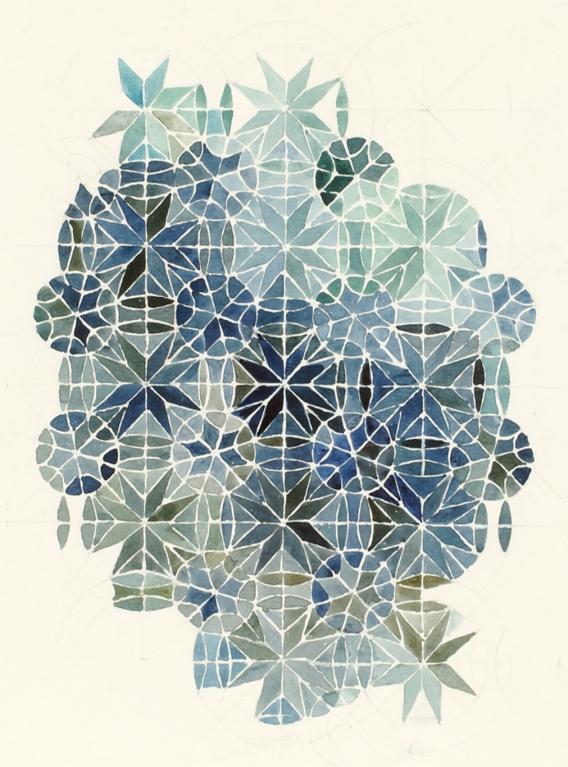 geometiric pattern | sammlung weltensand
