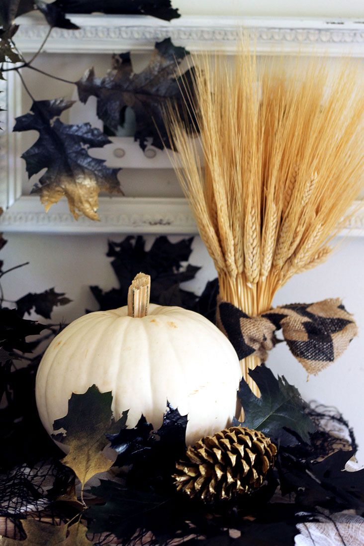 How to Use Natural Elements to Decorate for Halloween Pinterest - decorate for halloween