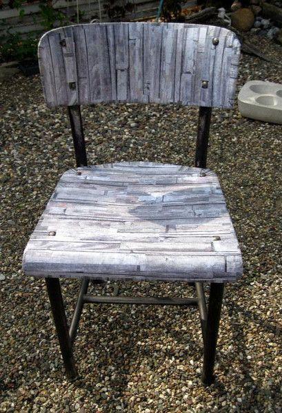 Vintage Sehr Alter Schul Stuhl Upcycling Von Wandeldesign Auf Dawanda Com Wohnzimmertische Upcycling Stuhle