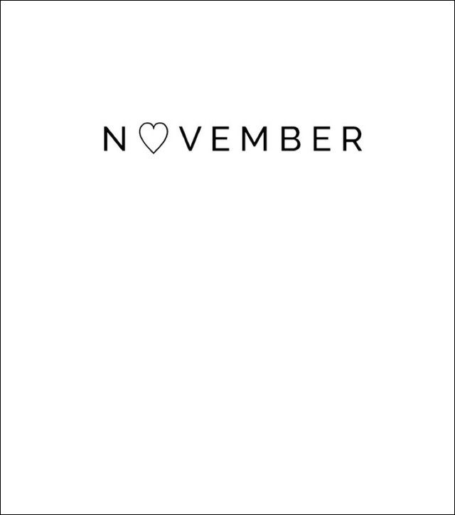 Welcome November- birthday month and thanksgiving