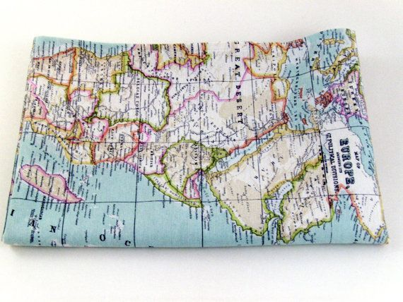 World map fabric id make duvet covers and cushions out of this world map fabric id make duvet covers and cushions out of this gumiabroncs Choice Image