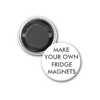 Custom Personalized 1 25 Round Refrigerator Magnet Template Gifts Diy Customize