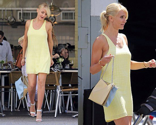 15d6c8c112 cameron diaz the other woman clothes yellow dress