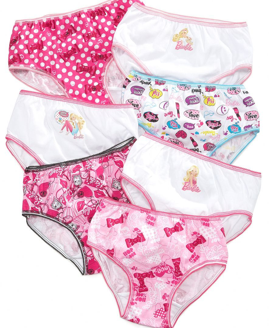 926caf4f0c Barbie Girls  or Little Girls  7-Pack Cotton Panties
