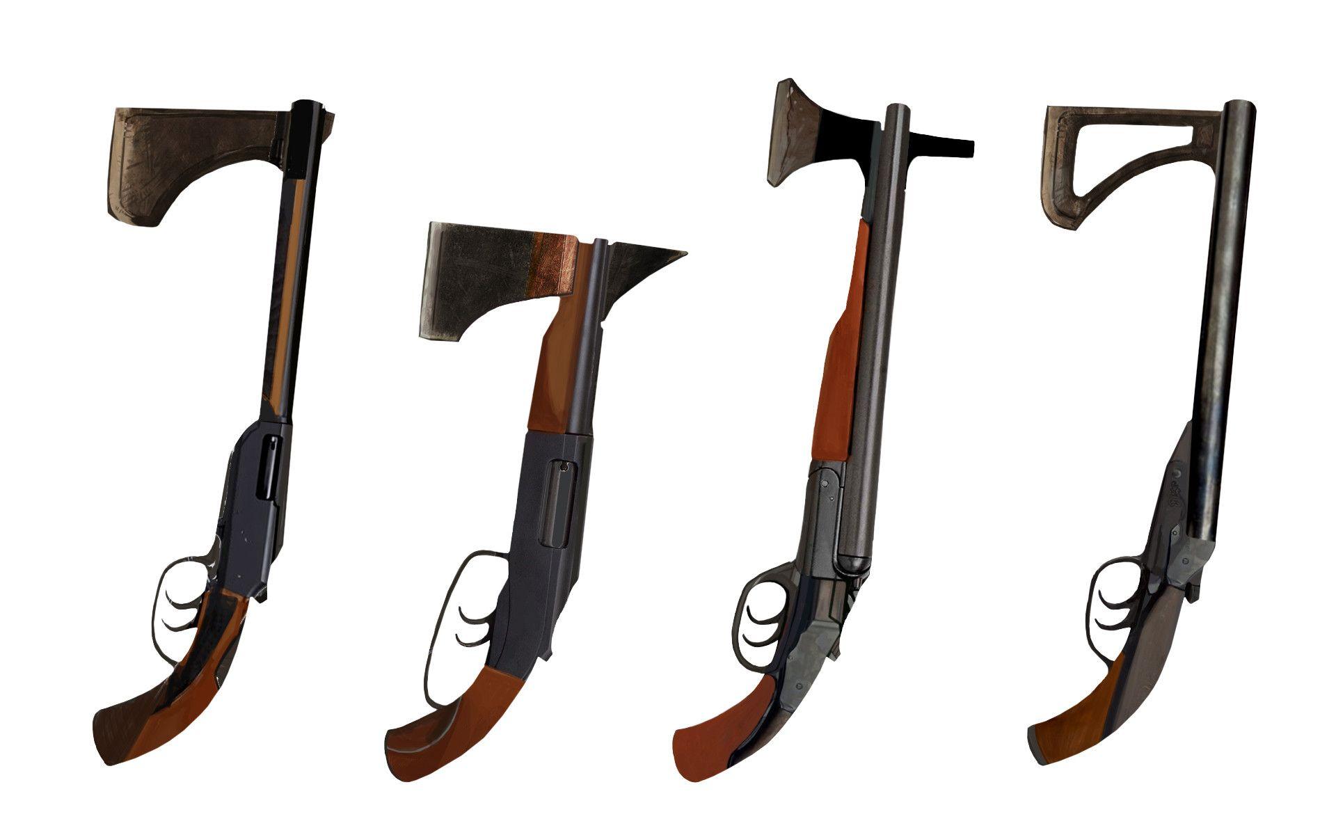 ArtStation - Axe Guns, Craig Schulz