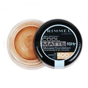 Rimmel Cool Matte Mousse Foundation 16hr in Natural Beige ($12.95)