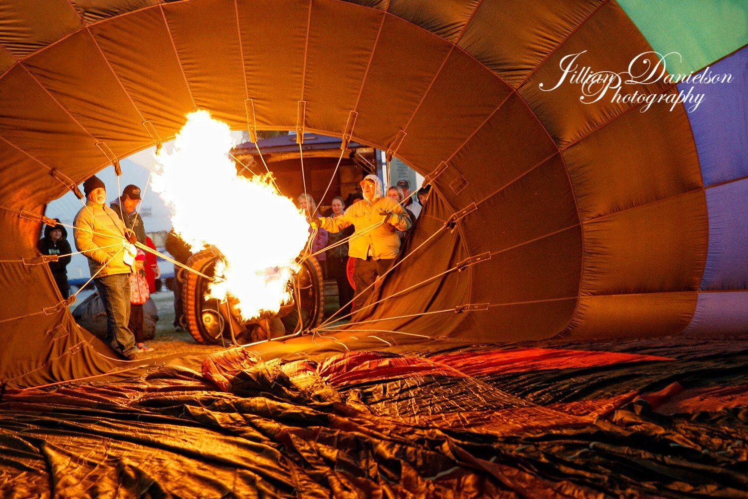 Fantastic picture from the 2013 Havasu Balloon Festival by