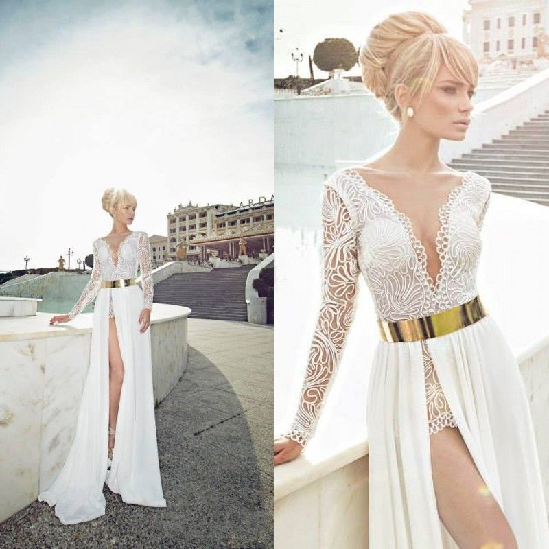 Gold white dress side by side | Beautiful dresses | Pinterest ...
