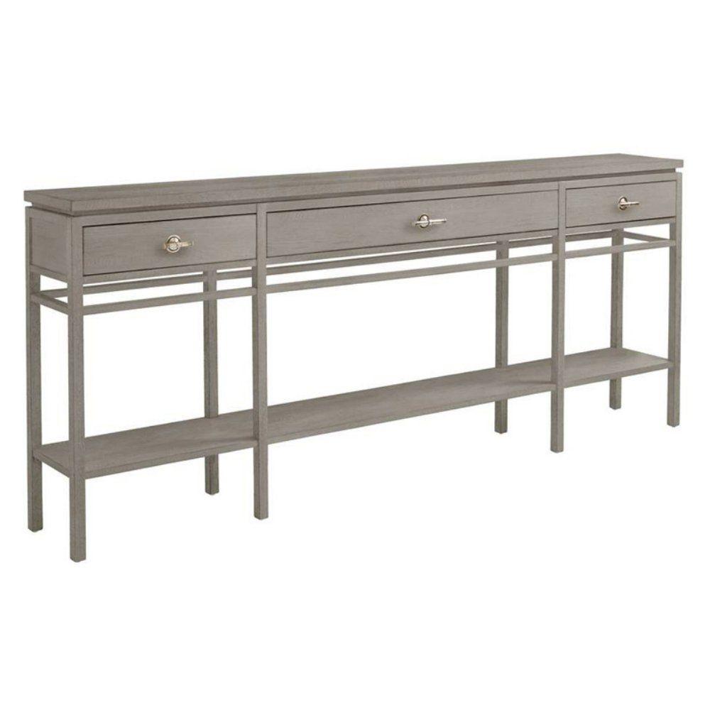 Stanley Furniture Coastal Living Resort Palisades Sofa Table Morning Fog Skinny Console Table Coastal Interiors Design Home