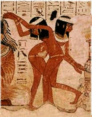 Exact messages Ancient egyptian dancers consider, that