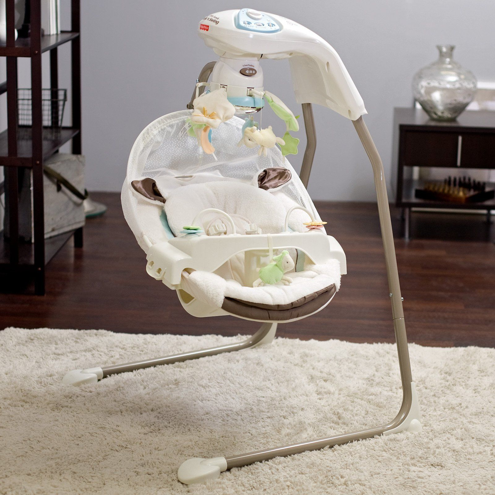 Fisher Price baby swing... lifesaver. | Selected Pins | Pinterest