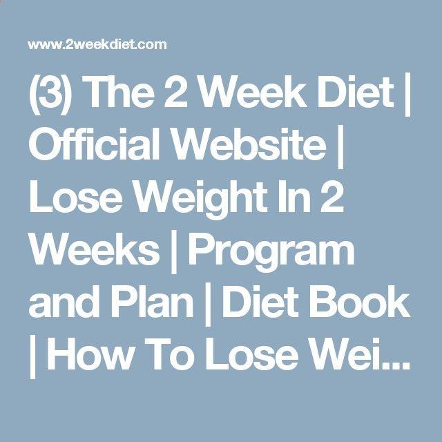 2 Week Diet Plan - (3) The 2 Week Diet Official Website Lose - fitness plan template
