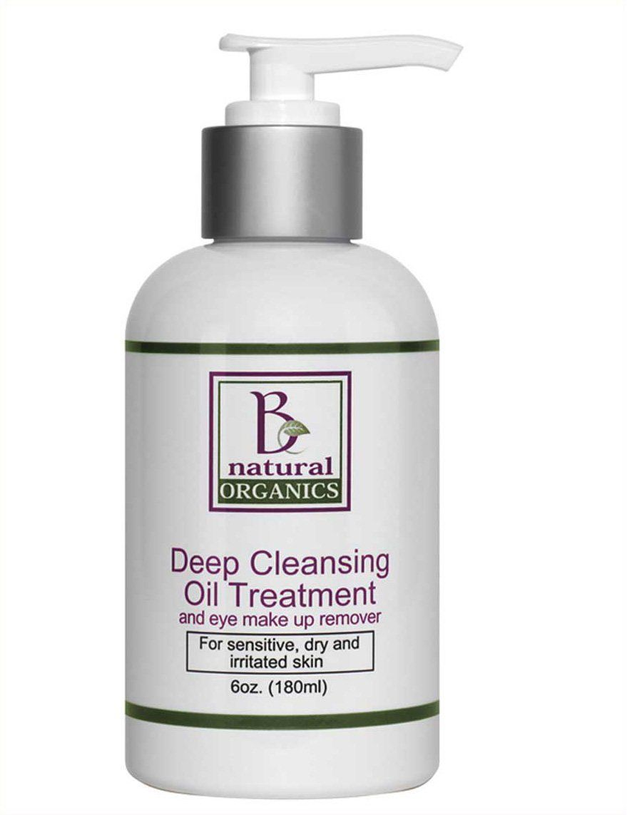 Be Natural Organics Deep Cleansing Oil Treatment and Eye Makeup Remover 6 Oz (180 ml