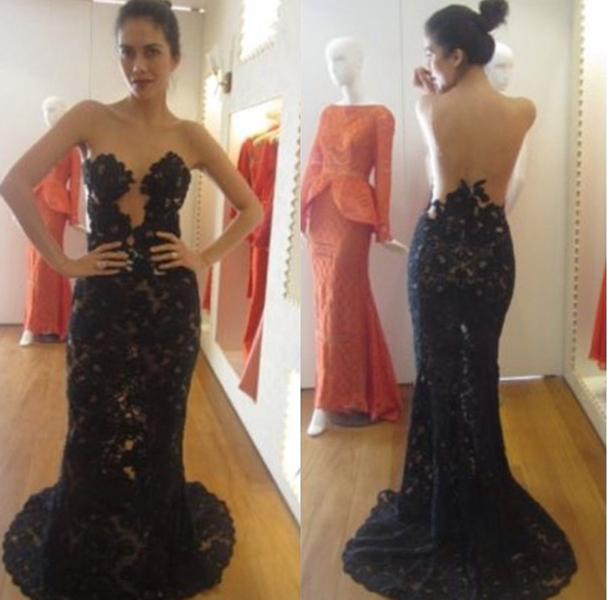 Black lace soo pretty gowns pinterest black laces gowns and