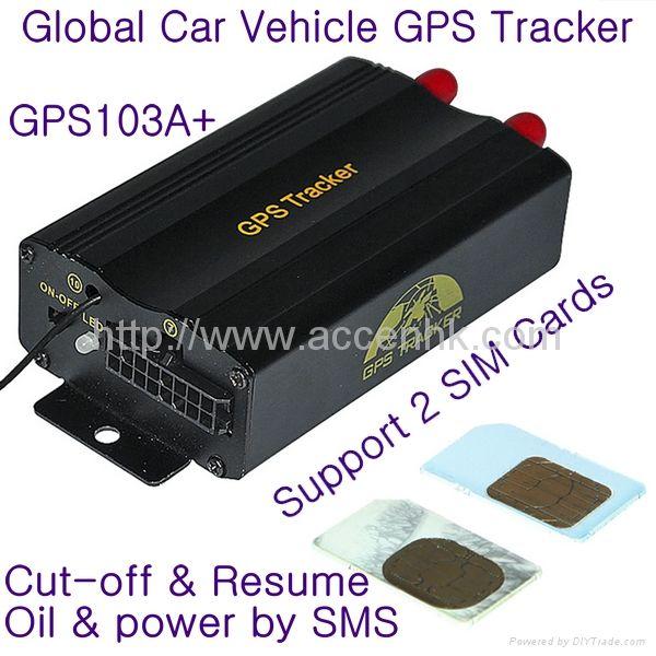 Upgraded TK103B Car Vehicle GPS Tracker W/ Cut-off and Resume Oil - resume tracker