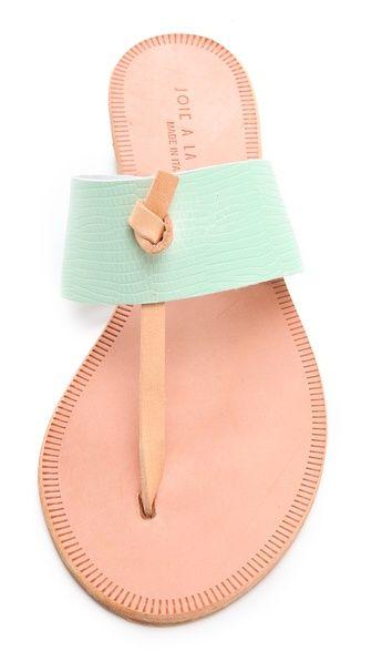 2613340465848e Joie A La Plage Nice Contrast Sandals