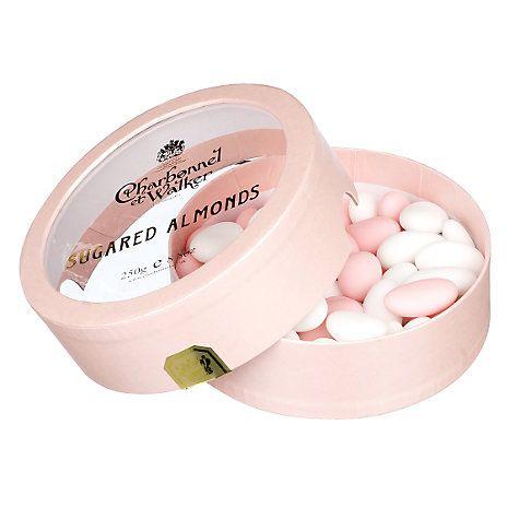 Wedding Favours Charbonnel Et Walker Sugared Almonds 225g Online At Johnlewis