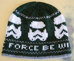 quality design f8bf0 96218 Storm trooper knit hat