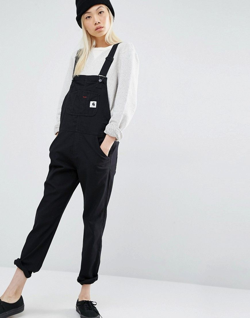 c6dcafb6a6 Carhartt WIP Bib Overall Dungarees With Front Logo | Style ...