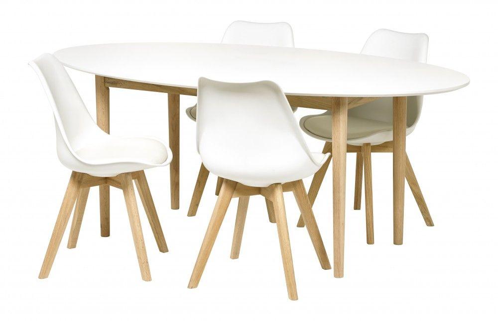 Ovaler Tisch, Esstisch oval mit einem Gestell aus Massivholz, Länge - esstische aus massivholz ideen
