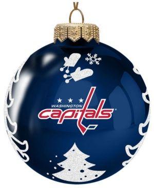 Memory Company Washington Capitals Glass Christmas Tree ...