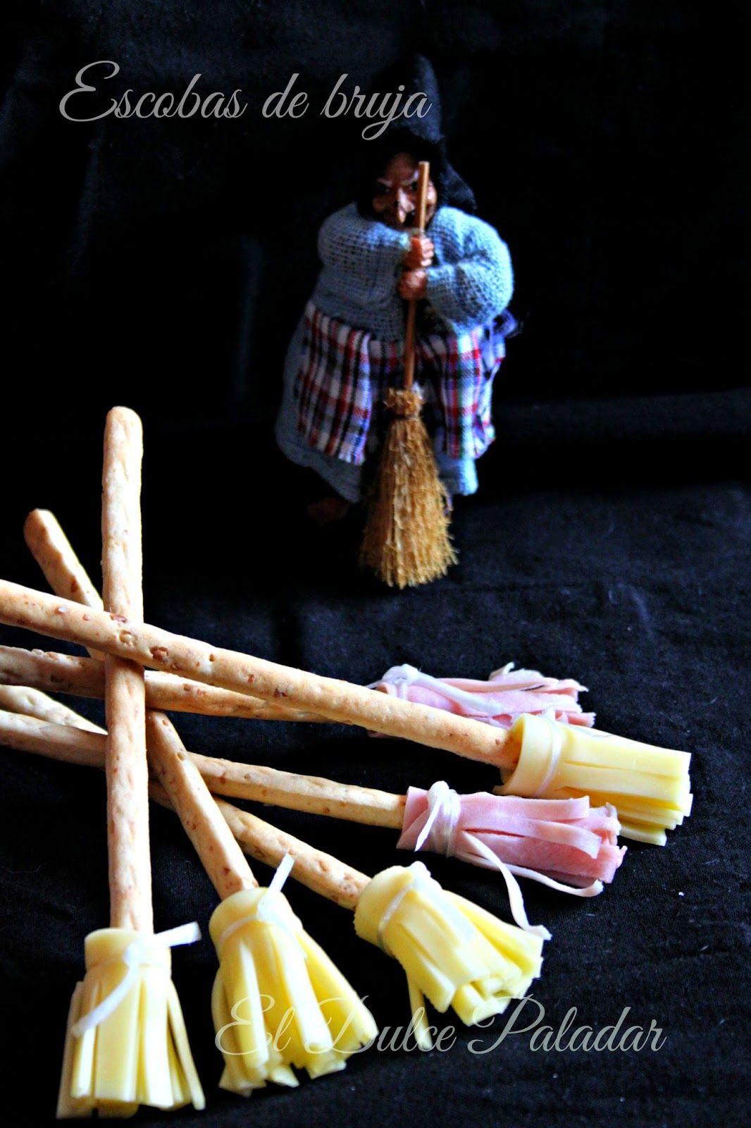 El dulce paladar: Escobas de bruja