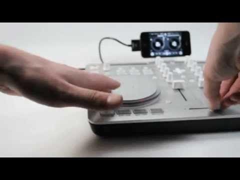 Vestax Spin2 USB MIDI & iOS DJ Controller for algoriddim