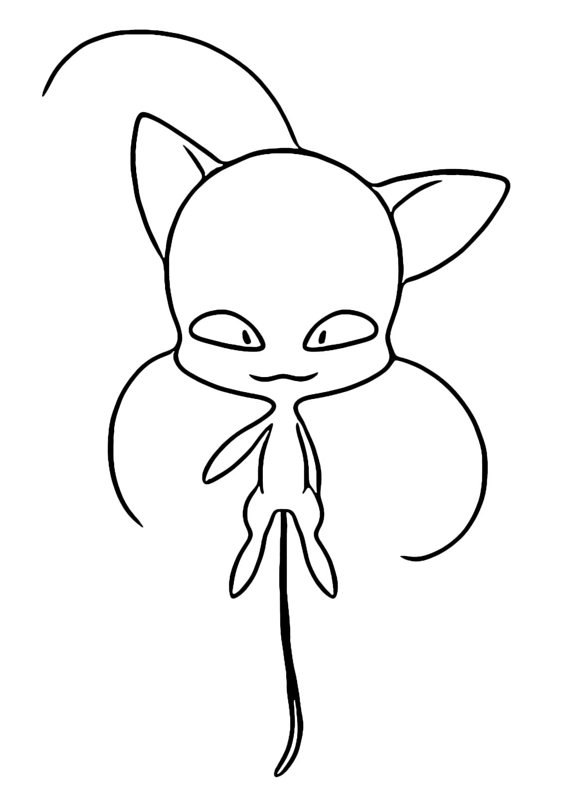 Miraculous Le Storie Di Ladybug E Chat Noir Plagg Il Kwami Di Adrien Fermo Disegni Da Colorare Astratti Disegni Da Colorare Pagine Da Colorare Per Bambini