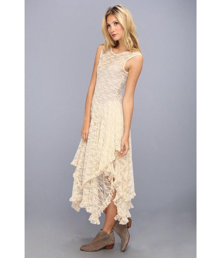 Vintage Handkerchief Hem Bridesmaid Dress