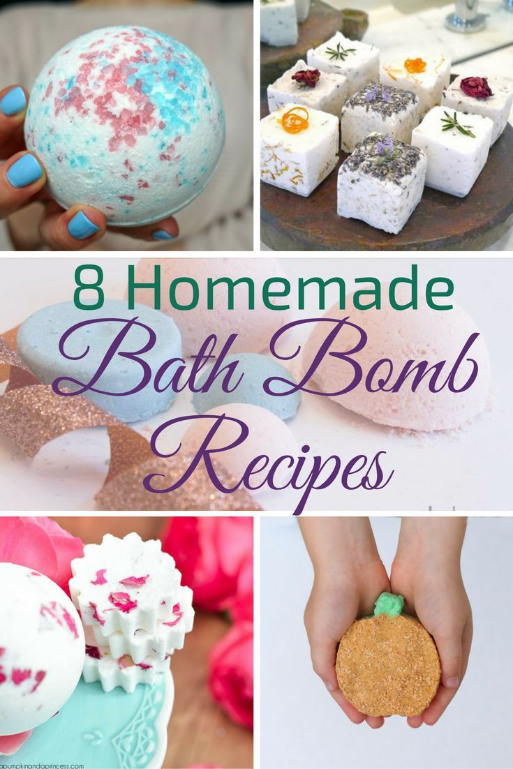 these diy bath bomb recipes help you customize your scents and