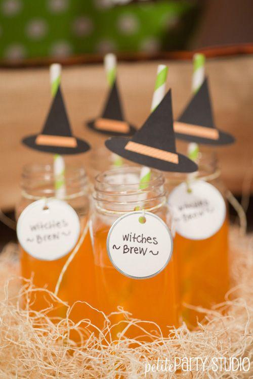 Halloween Spooktacular {Pottery Barn Kids Event Halloween ideas - halloween drink ideas for kids