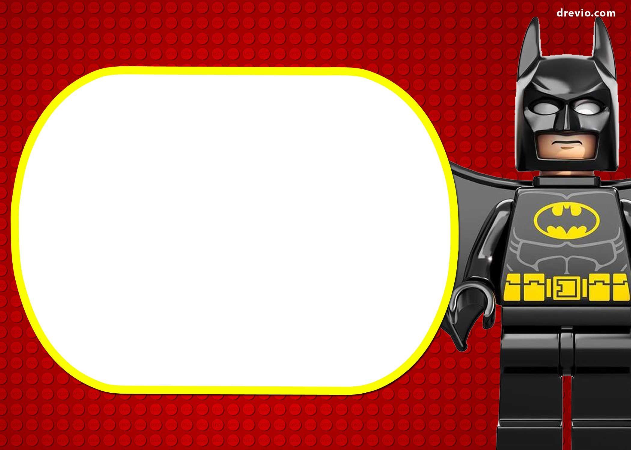 free printable marvel u0026 39 s lego invitation