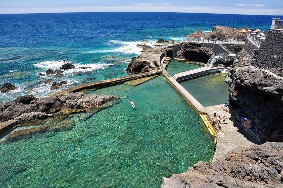 Piscinas deLa Fajana, Barlovento, Isla de La Palma Tolle