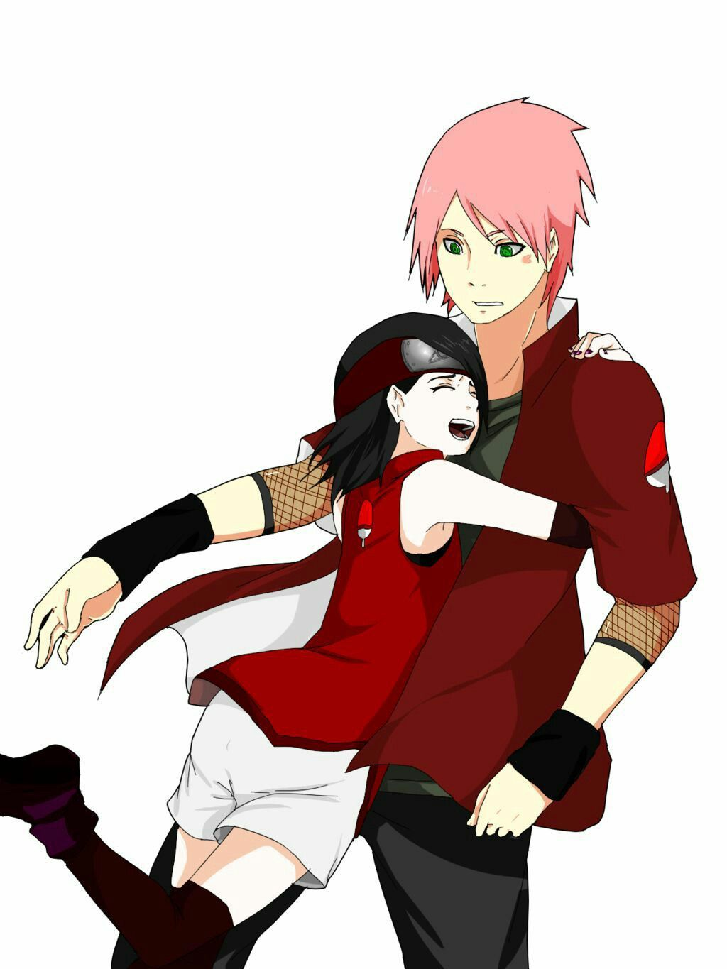 If Sarada had an older brother | Naruto • ナルト | Boruto