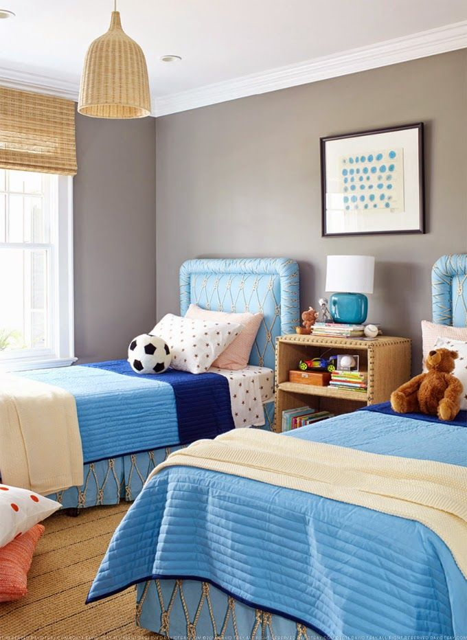 Twin Boys Bedroom Ideas: David Tsay Photography