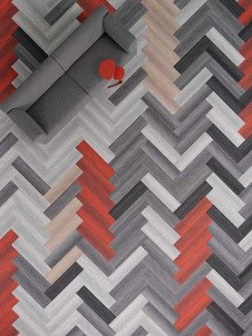 New Carpet Tile Collection By Shaw Explores Colour In