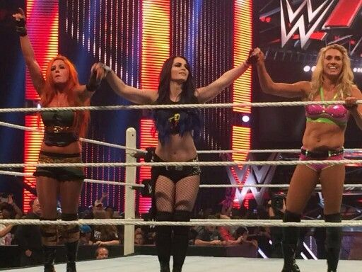 Becky Lynch Paige & Charlotte