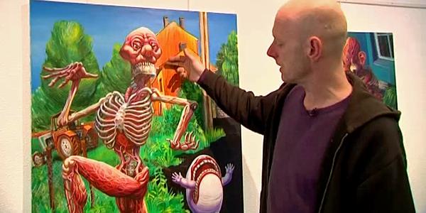 Vincen Massey : le peintre punk inspiré par le rire et les rêves