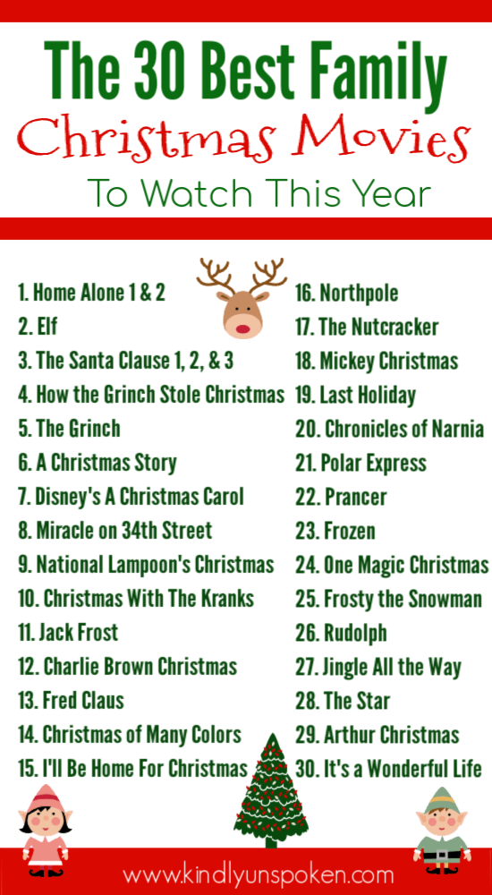 30 Best Family Christmas Movies To Own In 2020 Family Christmas Movies Best Family Christmas Movies Christmas Movies