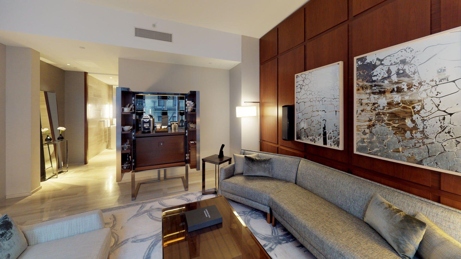 Park Hyatt New York 1 Bedroom Suite Matterport 3D