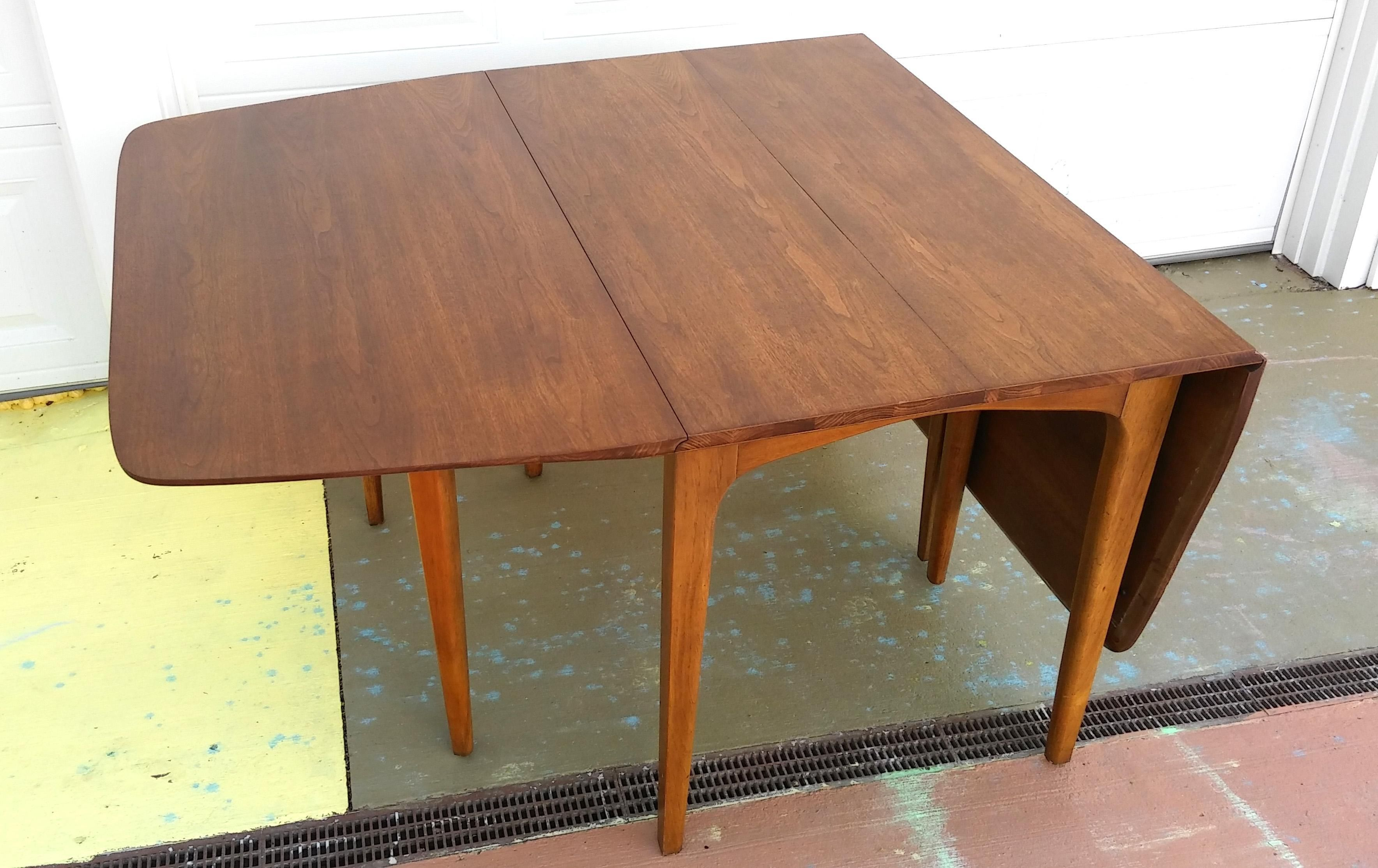 Drexel Profile Drop Leaf Dining Table From Chairish Mcm