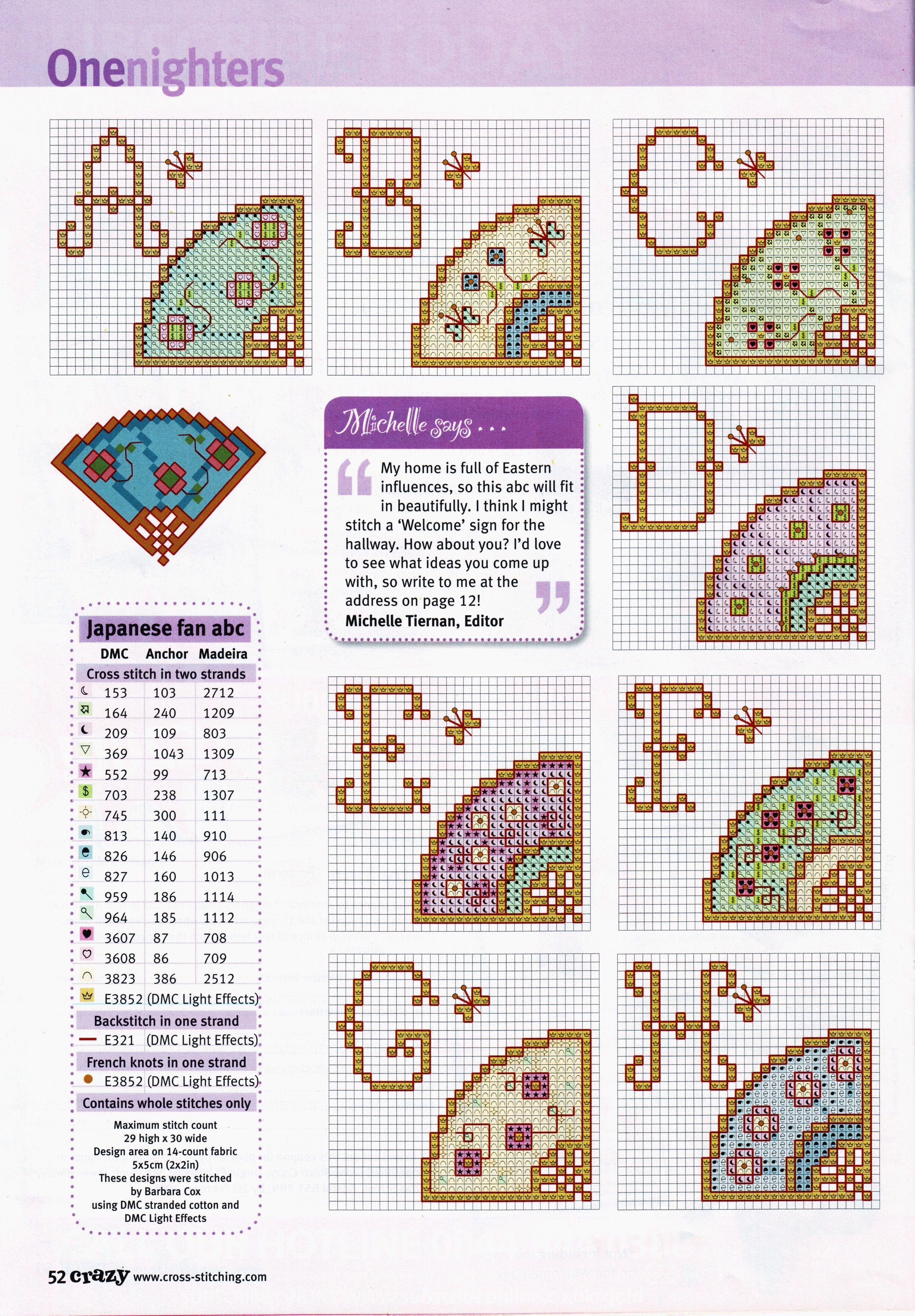 Pin de Judinci en X stitch alphabets with cool things | Pinterest ...