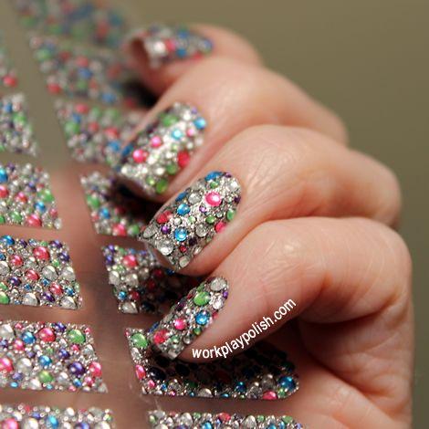 dashing diva design fx bling nail