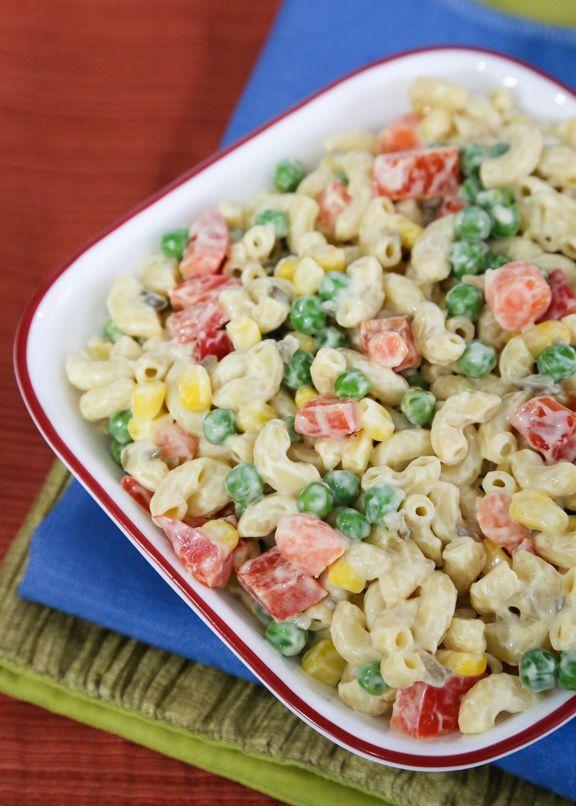 Macaroni Salad Recipe Vegetarian
