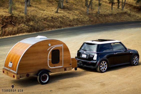 Mini Cooper Camper Trailer Rvs For Small Car Owners Camping Mini