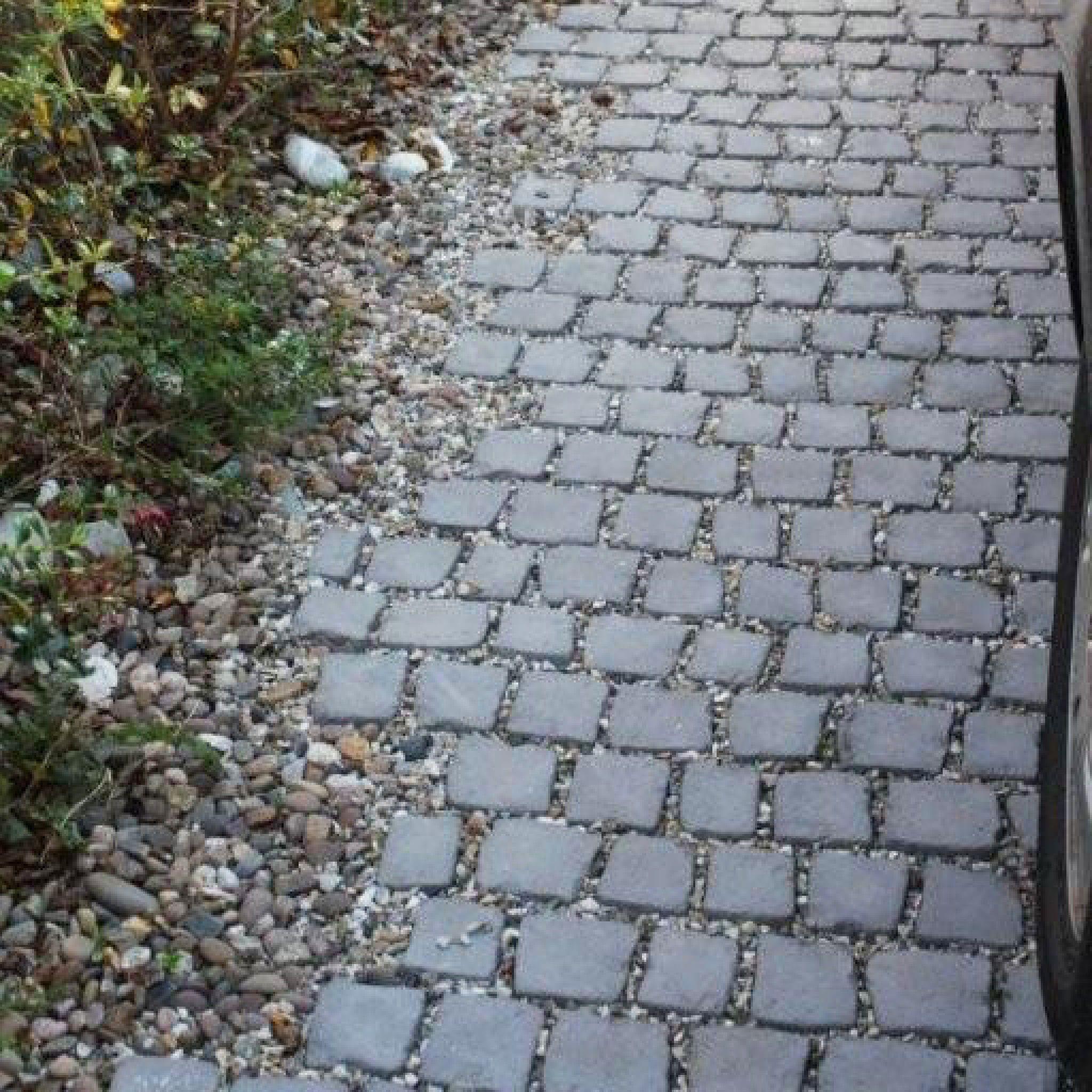 stoneflairbradstone, carpet stones charcoal cobble straight